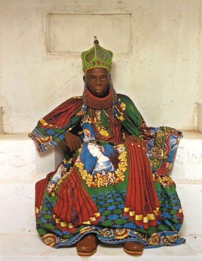 HRM Agbogidi Obi James Ikechukwu Anyasi ll, Obi of Idumuje Unor , 2012, by Osodi, George (4th Biennale Montevideo, Uruguay, Centro de Exposiciones Subte)