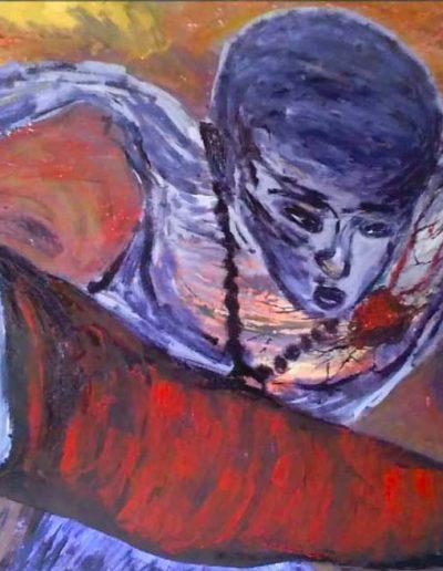 Sin titulo, Cuban artist, Dariel Perez Gallardo (Studio Bandei, Havana, Cuba)